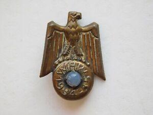 Original German WW2 WHW/Winterhilfswerk Badge, Eagle on Ereathr 1934-35