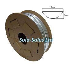 50 Metri Cromo Auto Styling Stampaggio Trim Striscia Adesivo 9mm di larghezza x profondità 3mm
