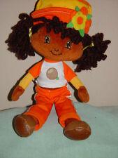 "Strawberry Shortcake Fraisinette Cloth Doll 10 1/2 "" Tall  2008 Arms & Legs Move"