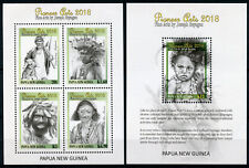 Papua New Guinea PNG 2018 MNH Pioneer Arts Joseph Bayagau 5v on 2 M/S Art Stamps