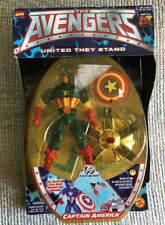 VINTAGE CAPTAIN AMERICA THE AVENGERS ACTION FIGURE TOY BIZ 1999 NEW