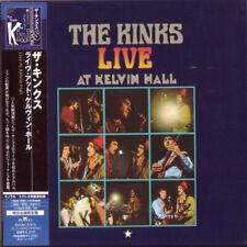 THE KINKS, LIVE AT KELVIN HALL, AUTH LTD ED CD, JAPAN 2007, BVCM-37975 (NEW)