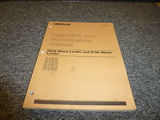 Caterpillar CAT 966G 972G Wheel Loader Tractor Owner Operator Operation Manual