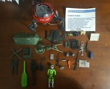 Vintage Lot of Gi Joe Accessories Weapons Guns Parts and Pieces from other toys