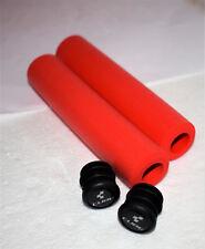 Ultra leichte Cube SCR Griffe rot Fahrradgriffe neu Bike Mountainbike 65 Gramm