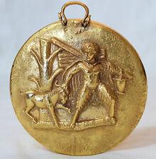ANCIENT Mythology Greece PANAS PAN Charm Greek Sculpture BENAKI Museum Signed