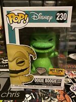 Funko POP! Disney Oogie Boogie With Bugs #230 Diamond Hot Topic Exclusive Rare