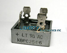 25 amp Full Wave Bridge Rectifier. KBPC2506 For converting AC to DC hho use 25a