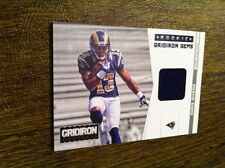 "CHRIS GIVENS 2012 GRIDIRON ROOKIE ""GRIDIRON GEMS"" RAMS GU JERSEY PATCH RC /249!!"