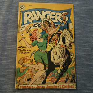 RANGERS COMIC #47 JUNE1949 FICTION HOUSE (kf)