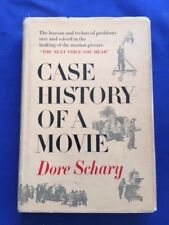 CASE HISTORY OF A  MOVIE - FIRST EDITION INSCRIBED BY DORE SCHARY