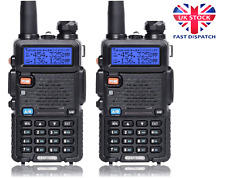 Double UV-5R set Dual Band DTMF CTCSS DCS FM Ham Two Way Radio VOX 128 Memory