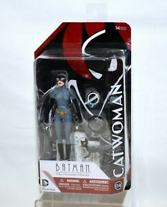 DC Collectibles Batman The Animated Series CATWOMAN Red Card #04 Figure
