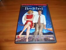 Bewitched (DVD, 2005,Widescreen Special Edition) Used Nicole Kidman Will Ferrell