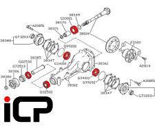 Rear R180 Diff Differential Bearing Kit For Subaru Impreza UK & JDM 2000 -2014