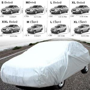 Universal Car Sedan Suv Cover Waterproof Sun Snow Dust Rain Resistant Protection