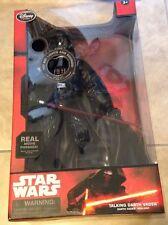 Darth Vader Talking Figure 14'' Star Wars Light Sound Disney Store Exclusive NEW