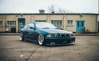 BMW e36 Coupe Felony FRONT and REAR overfenders felony form drift stanc