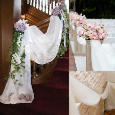 100*75cm Crystal Sheer Organza Fabric DIY Tulle Roll Wedding Party Decoration