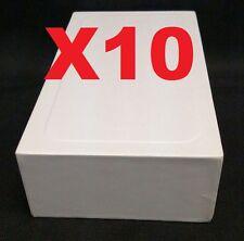 Lot of 10 iPhone 5 / 5C / 5S / SE  Empty Retail Box Plain White Box Only