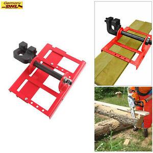 Lumber Cutting Guide Säge Stahl Holz Balkenmacher, Mobiles Sägewerk Kettensäge