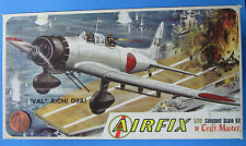 """MODEL KIT '60s vtg Airfix AICHI D3A1 """"VAL"""" 1:72 Scale Craft Master DIVE BOMBER"""