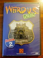 WEIRD U.S.: REAL TALES OF THE BIZARRE VOL 2 (HISTORY CHANNEL) NEW AND SEALED