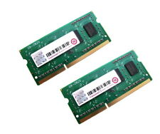 Transcend TS512MSK64W6H 8GB (2x4GB Kit) 1Rx8 PC3L-12800S DDR3 Laptop Memory