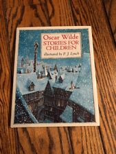 OSCAR WILDE STORIES FOR CHILDREN Hardcover  BRAND NEW  Illustrated by P.J. LYNCH