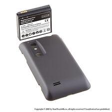 3500mAh Extended Battery for LG Optimus 3D P920 P925 Black Cover