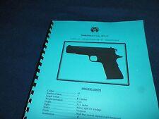 LLAMA  MAX-I CAL, 45ACP,  AUTOMATIC PISTOL  MANUAL,    11 Pages