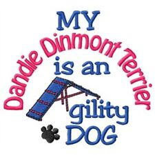 My Dandie Dinmont Terrier is An Agility Dog Long-Sleeved T-Shirt Dc1948L