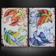78 Page Chinese Mythical Rosefinch Flash Tattoo Manuscripts Design Book Sketch