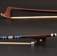Master Advanced Pernambuco Violin Bow 4/4 Stiff Fast Respons Ebony Silver parts
