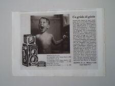 advertising Pubblicità 1940 ZEISS IKON IKOFLEX