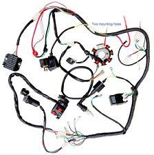 Full Electrics wiring harness CDI coil 200cc 250cc ATV Quad Bike Buggy Gokart