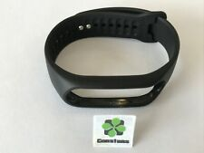 used Genuine Official TomTom Touch Touch Cardio strap band Black-Silver LARGE