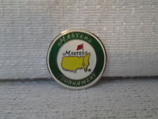2010 Augusta National Masters Tournament  Flat Ball Marker Phil Mickelson