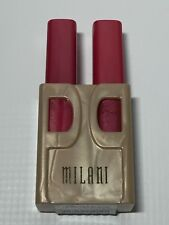 Milani Expertly Matched Lipstick & Lipgloss 808 TOO SWEET Duo Pair NEW