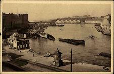 Brest Bretagne Frankreich AK 1940 L'Avant Port Militaire Militär Hafen Harbour