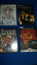 LOTTO 4 VIDEOGAMES PC - FINAL FANTASY XI - TRINE - FANTASY WARS
