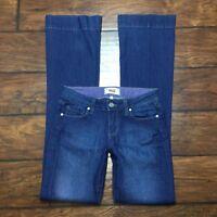 Paige Penny Womens Jeans Size 26 Medium Wash Denim Stretch Boot Cut Denim