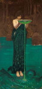 John William Waterhouse Untitled Poster Reproduction Giclee Canvas Print
