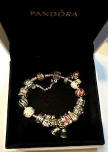 Pandora Gold European Fine Charms Charm Bracelets For Sale Ebay