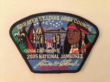 2005 Jamboree Greater St. Louis Area Council JSP 1 of 7 / Sacagawea w/card MINT!