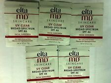 Set of 5pcs Elta MD UV Clear Broad-Spectrum SPF46 2g 0.07oz Sample #soal