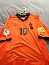 00/01 Holland player issue size L Bergkamp No.10