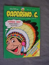 PAPERINO E C. #  28 - 10 gennaio 1982 - WALT DISNEY - OTTIMO