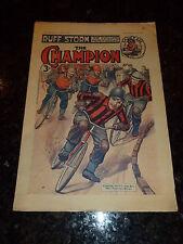 "THE CHAMPION ""Comic"" (1950) - Vol 57 - No 1480 - Date 10/06/1950  UK Paper Comic"