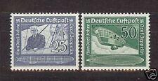 Deut.Reich Mi.-Nr.669/670 ** Flugpostmarken Zeppelin Absolut postfrisch!